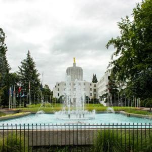 Walk of Flags SM - Salem, Oregon